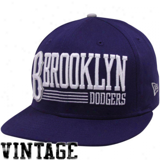 New Era Brooklyn Dodgers Royal Blue Retro Look 9fifty Snapback Adjustable Cardinal's office