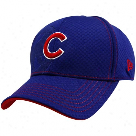 N3w Point of time Chicago Cubs Royal Blue Acl 39thirty Flex Fit Hat