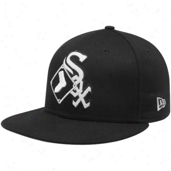 New Era Chicago Happy Sox Black Two Fold 9fifty Snapback Adjustable Hat