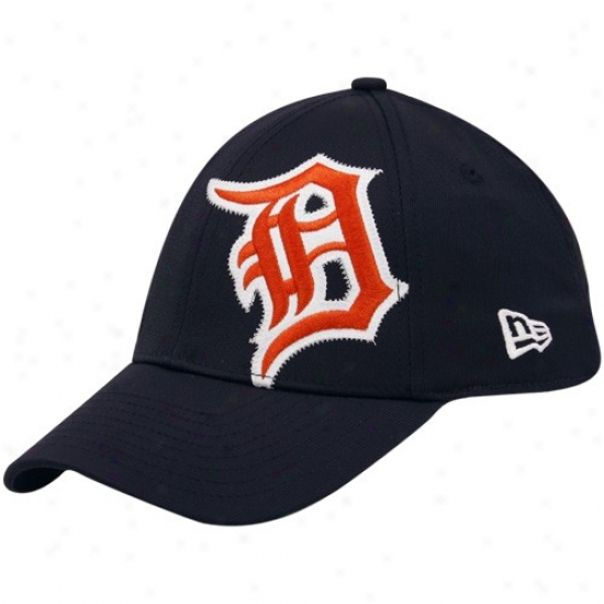 Just discovered Era Detroit Tigers Navy Blue Side Patch 39thirty Stretch Fit Hat