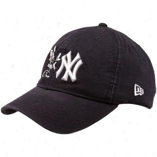 Starting a~ Era New York Yankees Boy Girls Navy Blue Minnie Jr. Essentials Adjustable Hat