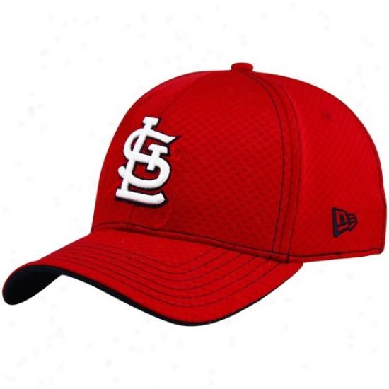 Novel Era St. Louis Cardinals Red Acl 39thirty Flex Fit Hat
