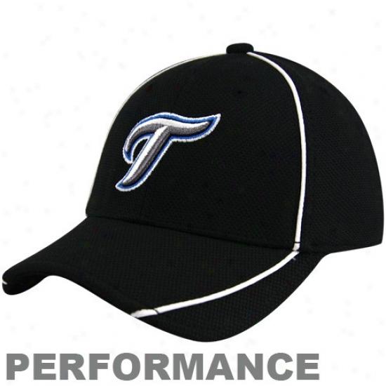 New Era Toronto Blue Jays Youth Black Batting Practice 39thirty Performance Flex Fir Hat