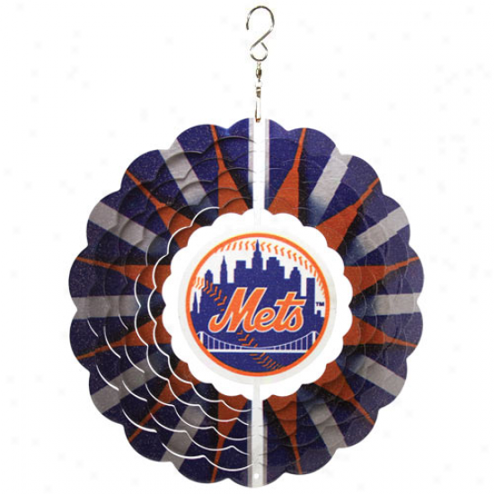New York Mets 10'' Team Logo Designer Wind Spinner