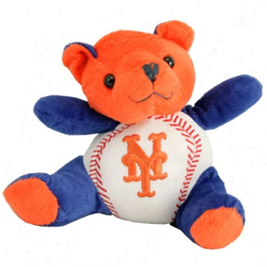 New York Mets Plush Cheering Baseball Bear