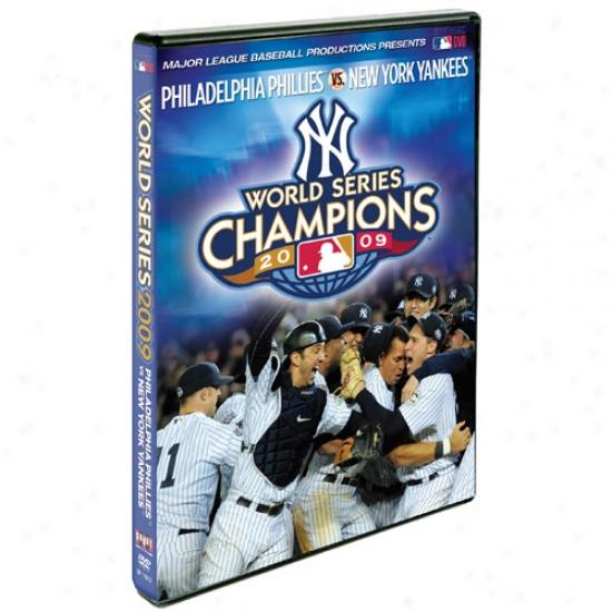 New York Yankees 2009 Life Series Champions Trophy Pin