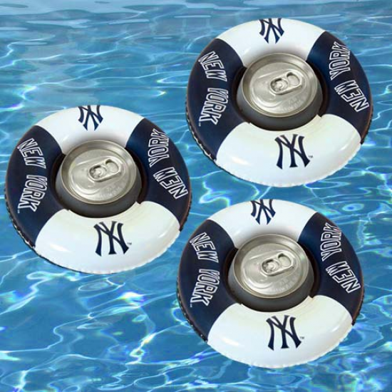 New York Yankees 3-pack Drink Floats