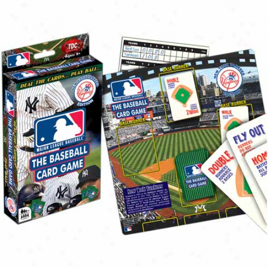 Tdc Baseball Card Game Instructions