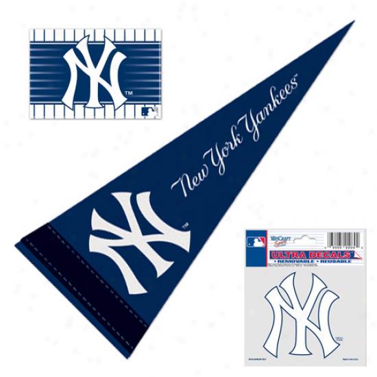 New York Yankees Mini Fan Pack
