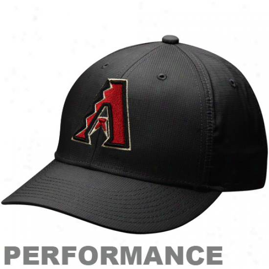Nike Arizona Diamondbacks Dri-fit Practicw Adjustable Cardinal's office - Black