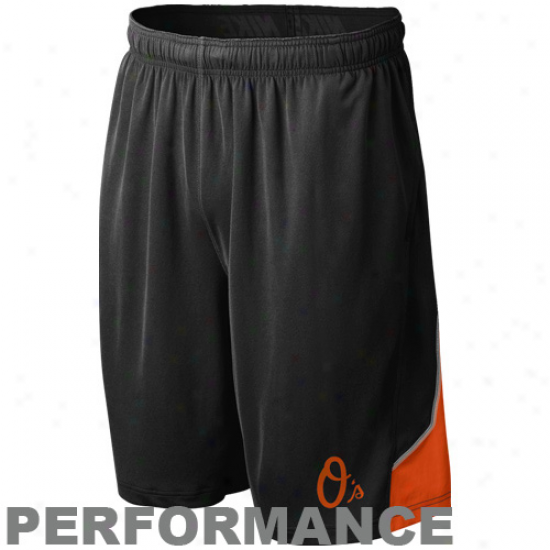 Nike Baltimore Orioles Dismal Mlb Authentic Collection Performance Training Shorts