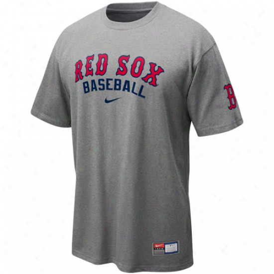 Nike Boston Red So Ash 2011 Mlb Practice T-shirt