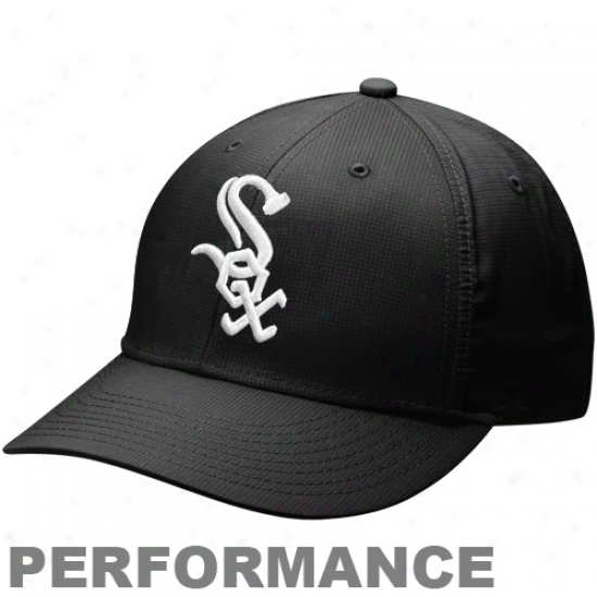 Nike Chicago White Sox Dri-fit Practice Adjustable Cardinal's office - Black