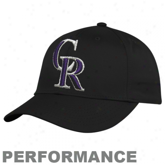 Nike Colorado Rockiew Black Legacy 91 Practice Performance Adjustable Hat