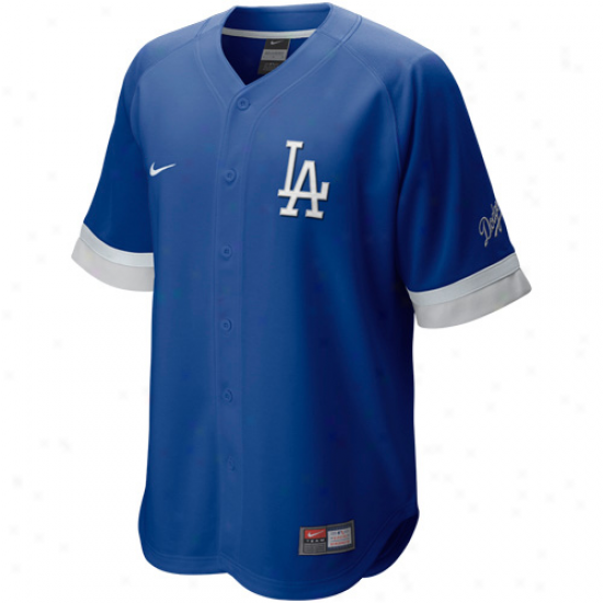 Nike L.a. Doxgers Baseball Fan Jersey-royal Blue