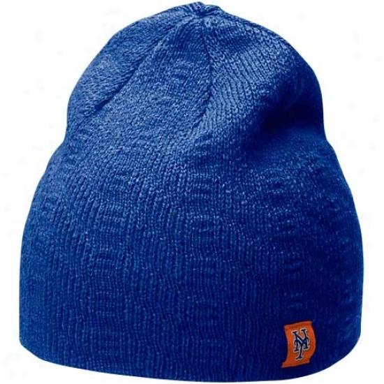 Nike New York Mets Ladies Royal Blue Knit Beanie
