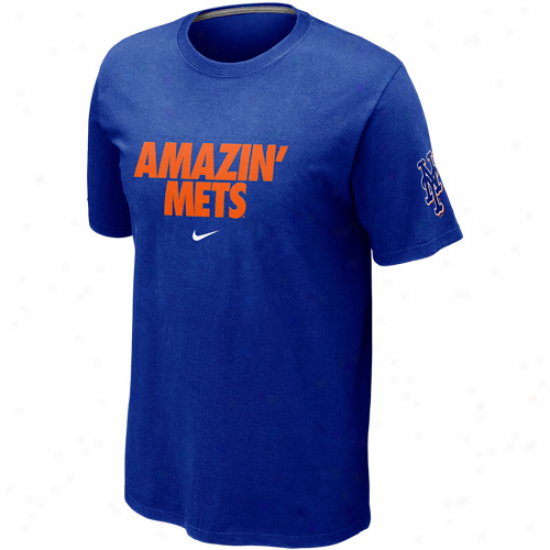 Nike New York Mets Local T-shirt - Royal Blue