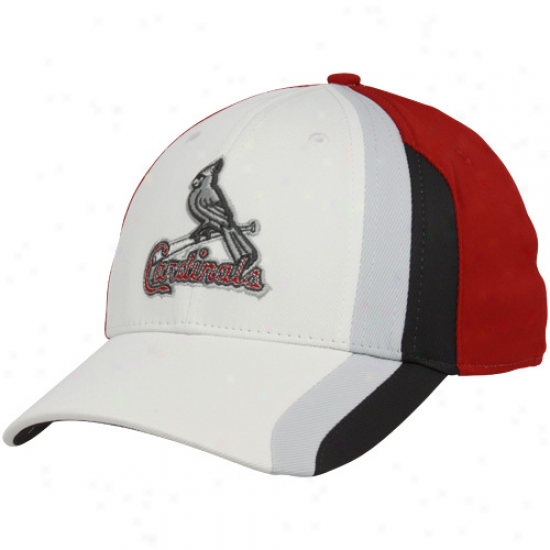 Nike St. Louis Cardinals White-red Tactile Legacy 91 Flex Fit Hat