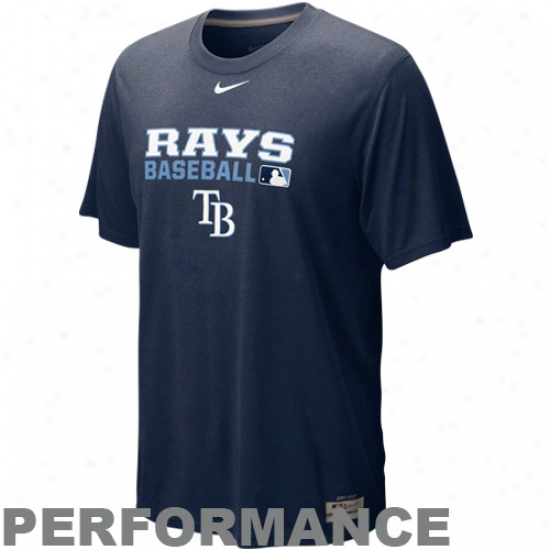 Nike Tampa Bay Rays Navy Blue Team Issue Legend Accomplishment T-shirt