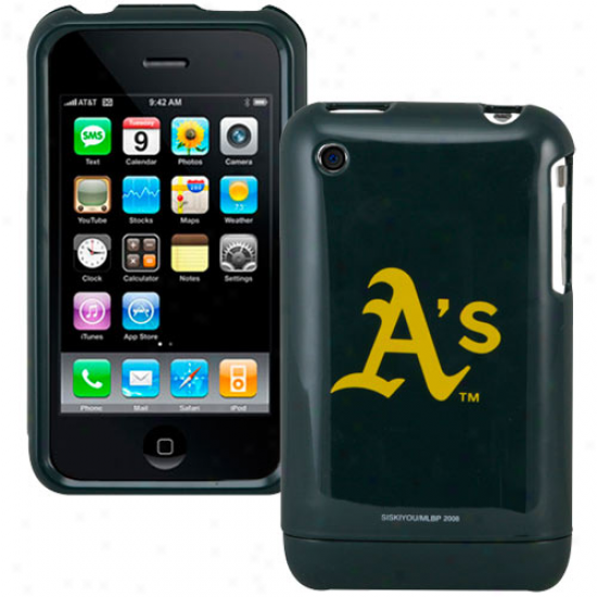 Oakland Athletics Green Team Logo Iphone Case