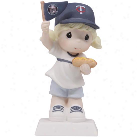 Precious Moments Minnesota Twins Glrl Fan-tastic Day Figurine