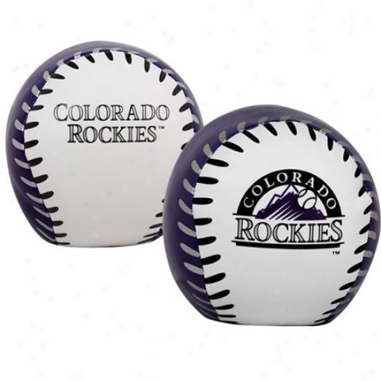 Rawlings Colorado Rockies 4'' Quick Keep in play Softee Baseball