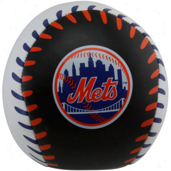 Rawlings New York Mets 4'' Quick Toss Softee Baseball