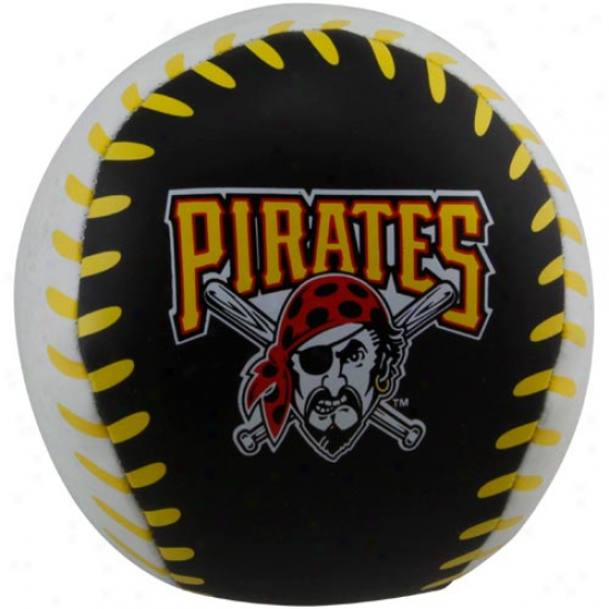 Rawlings Pittsbhrgh Pirates 4'' Quick Toss Softee Baseball