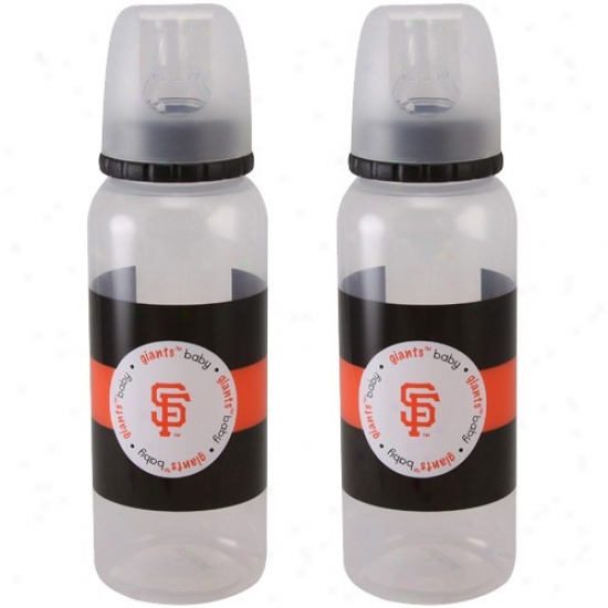 San Francisco Giants 2-pack Bottle Set
