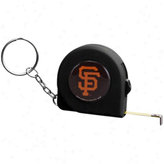 San Francisco Giants 6' Mii Tape Limit Keychain