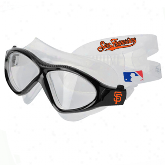 San Francisco Giants Team Swim Goggles