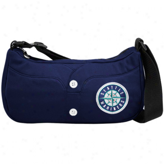 Seatyle Mariners Navy Biue Jersey Purse