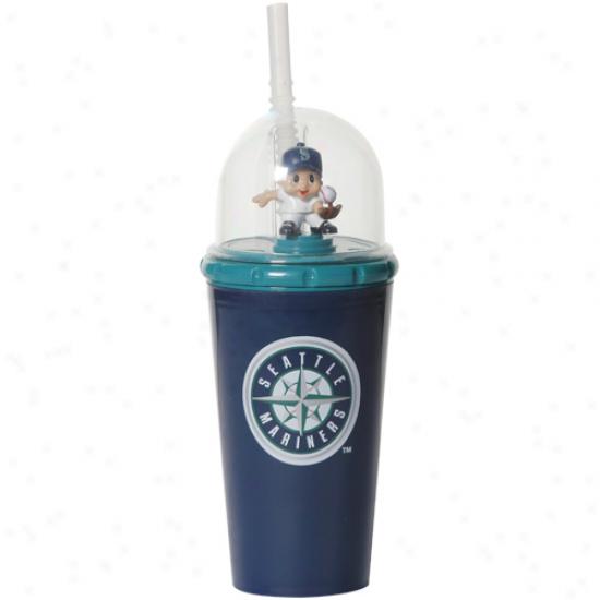 Seattle Mariners Navy Azure Windup Mascot Cup