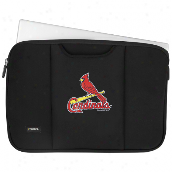 St. Louis Cardinals Black 13'' Notebook Breathe Sleeve