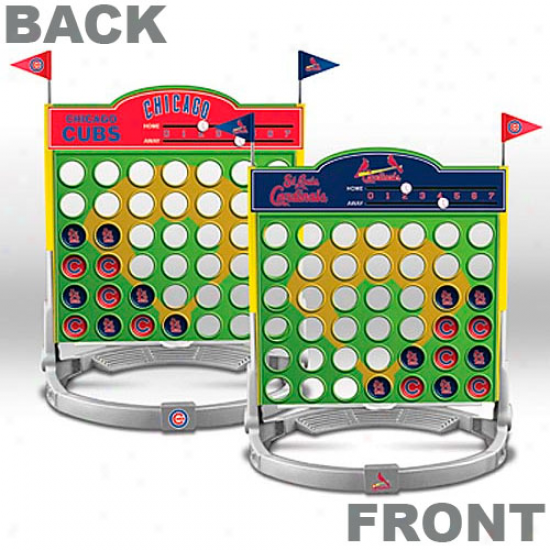 St Louis Cardinals Vs. Chicago Cubs Connect Four