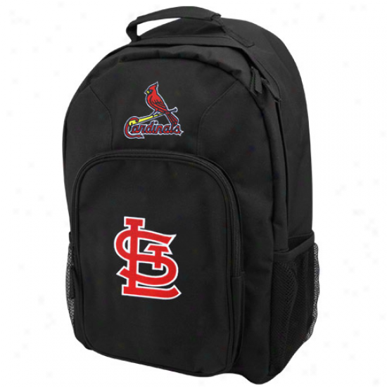 St. Louis Cardinals Youth Black Southpaw Backpack