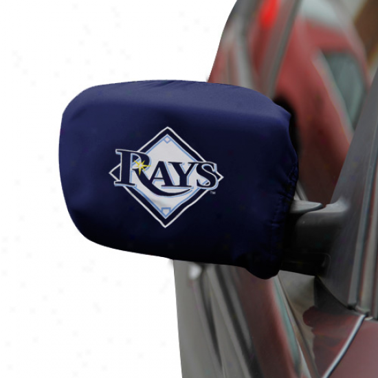 Tampa Bay Rays Small Team Logo Sidee Morror Covers