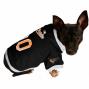 Baltimore Orioles Black Mesh Pet Jeersey