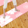 Chicago Cubs Pink Yoga Mat