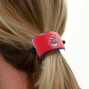 Cleveland Indians Team Logo Cuff Ponytail Holder