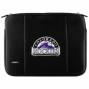 Colorado Rockies Black 15'' Laptop Breathe Sleeve