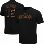 Mauestic Carrlos Beltran San Francisco Giants Youth Name & Number T-hsirt - Black