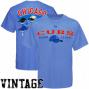 Majestic Chicago Cubs Light Blue Nostalgia Vintage T-shirt