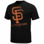 Majestic San Francisco Giants Winning Sign T-hirt - Black
