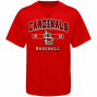 Majestic St. Louis Cardinals Youth Past Time Originak T-shirt - Red