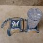 Milwaukee Brewers 8-pack Absorbent Paperkraft Coasters