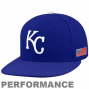New Point of time Kanaas City Royals Royal Azure On-field 59fifty Usa Flag Fitted Performance Hat
