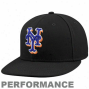 New Era New York Mets Authentic On-field Performance Fitted Hat - Black
