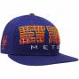 New Era New York Mets Royal Blue Fade 9fifty Snapback Adjustable Hat