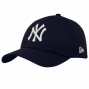 New Era Recent York Yankees Youth Navy Blue Tie Breaker 39thirty Stretch Fit Hat